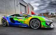 Lamborghini Aventador Wallpaper 1366X768  10 Car Background Wallpaper