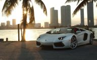 Lamborghini Aventador Wallpaper 1366X768  9 Car Desktop Background