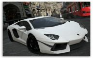 Lamborghini Aventador Wallpaper Hd Widescreen  8 Background