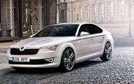 Skoda Cars 2015  3 Car Background Wallpaper