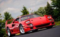 Ferrari F40 12 Free Hd Wallpaper