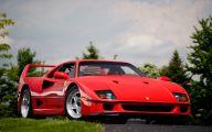 Ferrari F40 15 Car Desktop Background