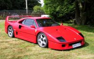 Ferrari F40 19 Wide Car Wallpaper