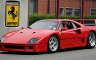 Ferrari F40 21 Free Wallpaper
