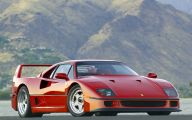 Ferrari F40 22 Background Wallpaper