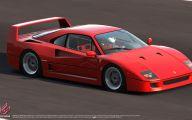 Ferrari F40 27 Wide Wallpaper