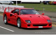 Ferrari F40 5 Wide Wallpaper