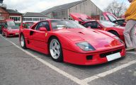 Ferrari F40 7 Wide Wallpaper