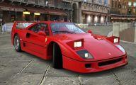 Ferrari F40 8 Widescreen Wallpaper