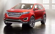 Ford Edge 33 Car Background Wallpaper