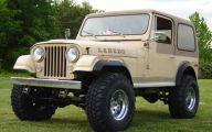 Jeep Cj 19 Car Background Wallpaper