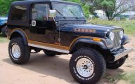 Jeep Cj 7 Car Background Wallpaper