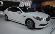 Kia K900 46 Car Background Wallpaper