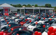 Nissan Dealership 1 Car Background Wallpaper