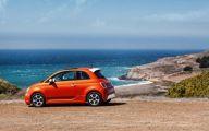 Orange Fiat 500X Wallpaper  11 Widescreen Car Wallpaper