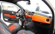 Orange Fiat 500X Wallpaper  34 Background