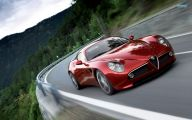 Alfa Romeo Sports Car 8 Car Background