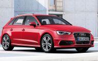 Audi Red 17 Free Wallpaper