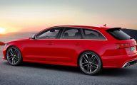 Audi Red 7 Hd Wallpaper
