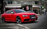 Audi Red 9 Desktop Background