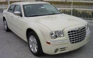 Chrysler White Car 1 High Resolution Wallpaper