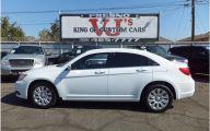 Chrysler White Car 20 Car Background Wallpaper
