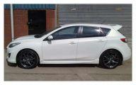 Chrysler White Car 34 Background
