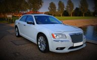 Chrysler White Car 4 Free Car Wallpaper