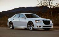 Chrysler White Car 7 Wide Car Wallpaper