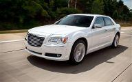 Chrysler White Car 9 High Resolution Wallpaper