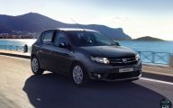 Dacia Black Car 13 Wide Car Wallpaper