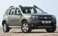 Dacia Black Car 28 Widescreen Wallpaper