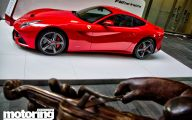 Ferrari Car Mall Display 2 Free Wallpaper