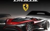 Ferrari Sporty 43 Car Background Wallpaper
