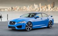 Jaguar Latest Model 27 Car Background Wallpaper