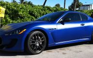 Maserati Blue Car 14 Car Desktop Wallpaper