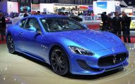 Maserati Blue Car 18 Free Wallpaper
