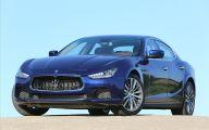 Maserati Blue Car 21 Widescreen Wallpaper