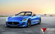 Maserati Blue Car 23 Cool Hd Wallpaper