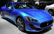 Maserati Blue Car 24 High Resolution Wallpaper
