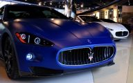 Maserati Blue Car 28 Free Wallpaper