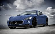 Maserati Blue Car 35 Wide Car Wallpaper