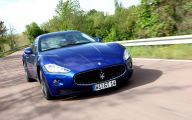 Maserati Blue Car 38 Hd Wallpaper