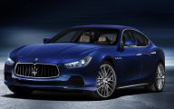 Maserati Blue Car 7 Cool Wallpaper