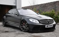 Mercedes-Benz Black 13 Car Background Wallpaper