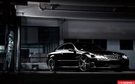 Mercedes-Benz Black 18 Wide Wallpaper