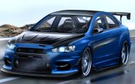 Mitsubishi Lancer 20 Widescreen Car Wallpaper