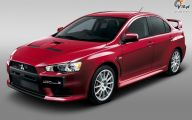 Mitsubishi Lancer 34 Wide Wallpaper