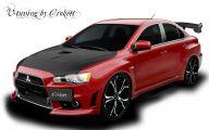 Mitsubishi Lancer 7 Free Wallpaper