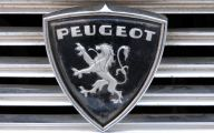 Peugeot Logo 35 Wide Car Wallpaper